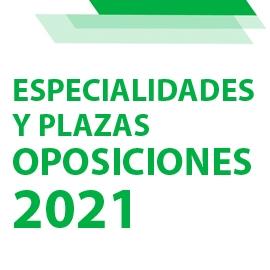 Distribución definitiva de especialidades y número de plazas para las Oposiciones