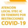 Atención telemática del STEC-IC en la isla de Tenerife por las medidas decretadas por la COVID-19