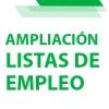 AMPLIACIÓN LISTAS DE EMPLEO: Listados provisionales