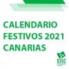 Calendario de días festivos de la CCAA canaria para 2021