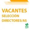 Vacantes provisionales procedimiento de selección de directores/as mandato 2021-2025