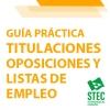 Guía Práctica requisitos de titulación oposiciones y listas de empleo