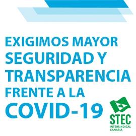 El STEC-IC exige mayores medidas y garantías de seguridad frente a la COVID-19 para toda la comunidad educativa