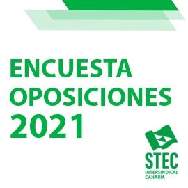 Encuesta sobre las Oposiciones docentes 2021 en Canarias