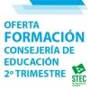 Oferta de teleformación de la Consejería de Educación para el 2º trimestre del curso 2020/2021