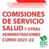COMISIONES DE SERVICIO 2021-22: Salud y Otras Administraciones