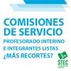 El profesorado interino y sustituto excluido de las Comisiones por necesidades docentes y los puestos singulares (¡SOLUCIONADO!)