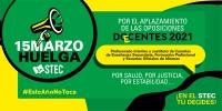 El STEC-IC convoca huelga por el aplazamiento de las oposiciones para el 15 de marzo