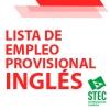 LISTAS DE EMPLEO: Lista provisional de INGLÉS del Cuerpo de Maestros/as