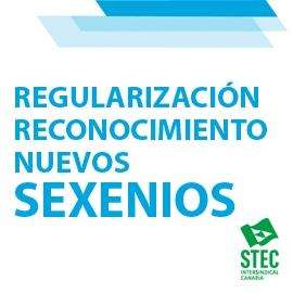 La Consejería de Educación regulariza el reconocimiento y abono de los nuevos sexenios