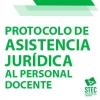 Protocolo de Asistencia Jurídica al Personal docente