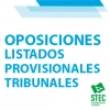 TRIBUNALES OPOSICIONES 2O21: Listas provisionales de participantes en el sorteo de vocales titulares y suplentes