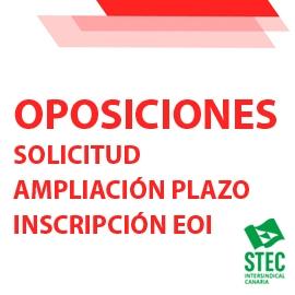 El STEC-IC solicita la ampliación del plazo de inscripción a las oposiciones para EOI