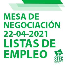 El STEC-IC consigue mejorar el borrador de nueva norma sobre Listas de Empleo