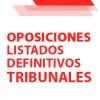 TRIBUNALES OPOSICIONES 2O21: Listas definitivas de participantes en el sorteo de vocales titulares y suplentes