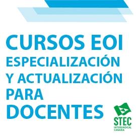 Inscripción cursos de especialización y actualización en las Escuelas Oficiales de Idiomas para docentes