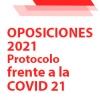 OPOSICIONES 2021: medidas de prevención frente a la Covid-19