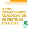 ADJUDICACIÓN DESTINOS: Plazos extraordinarios docentes con plaza suprimida/desplazados y otras situaciones