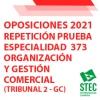 Repetición parte B especialidad Organización y Gestión Comercial (Tribunal 2 - GC)