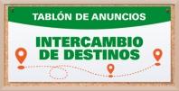 Abierto el plazo para INTERCAMBIO DE DESTINOS curso 2021-2022 (Tablón de Anuncios)