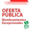Oferta pública de nombramientos excepcionales: Secundaria y Conservatorios