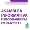 Asamblea Informativa telemática para funcionarios/as en prácticas de Canarias