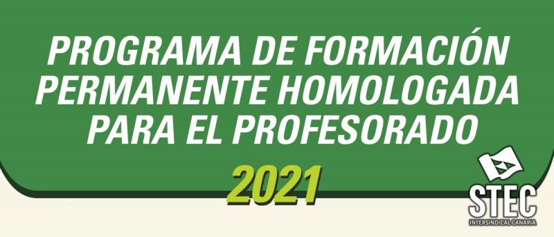 Programa de Formación Permanente Homologada del STEC-IC para el curso 2021-2022