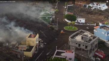 El STEC-IC manifiesta su solidaridad con los/as afectados/as del volcán de La Palma